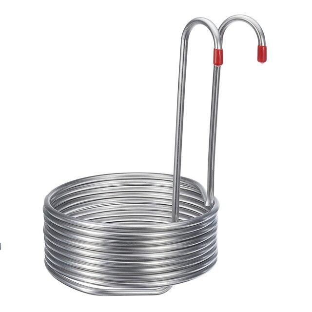 Sikè - Serpentina di raffreddamento acciaio inox 9 mt