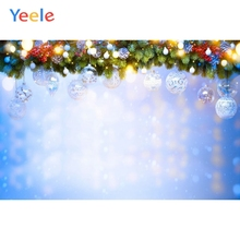 Christmas Backdrop  Snow Tree Ball Newborn Baby Birthday Party Photography Background For Photo Studio Photocall Photophone free shipping diamete3m clear pvc large snowing snow globe with christmas tree backdrop advertising exhibition outdoor snow glob