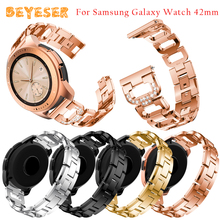 For Samsung Galaxy Watch Active Bracelet 20mm metal D-shape strap watch 42mm band smart Accessories