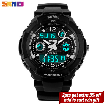 SKMEI Kids Watches Anti-Shock 5Bar Waterproof Outdoor Sport Children Watches Fashion Digital Watch Relogio Masculino 0931 1060 2