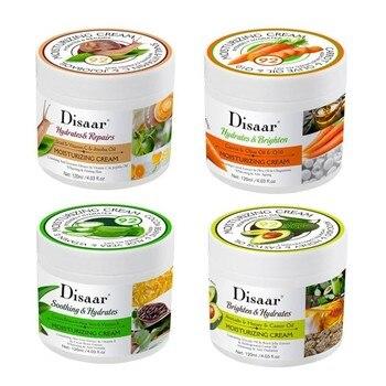 Crema hidratante Extracto de Aloe Vera y vitamina E y granos de...
