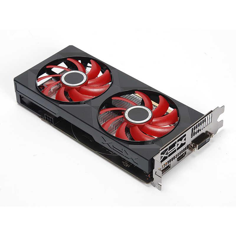 XFX RX 560 4 go GDDR5 cartes graphiques pour AMD RX 500 série VGA carte vidéo RX560-4GB RX560 RX564 4G HDMI DVI 7000MHz PCI 3.0