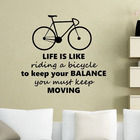 Life Is Like Riding ...