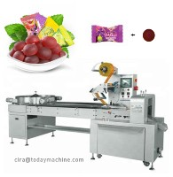 CBD Servo control Automatic Small Candy Flow package Sweets Package Pillow Wrapping Machinery