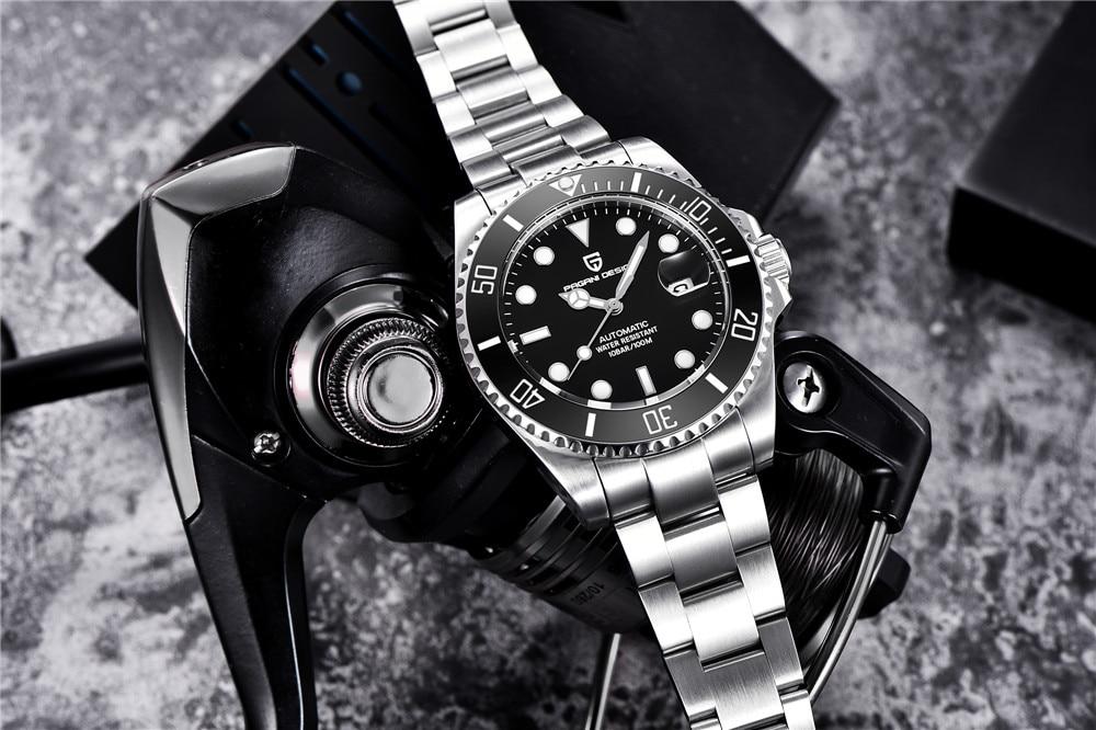 reloj mecánico para hombre