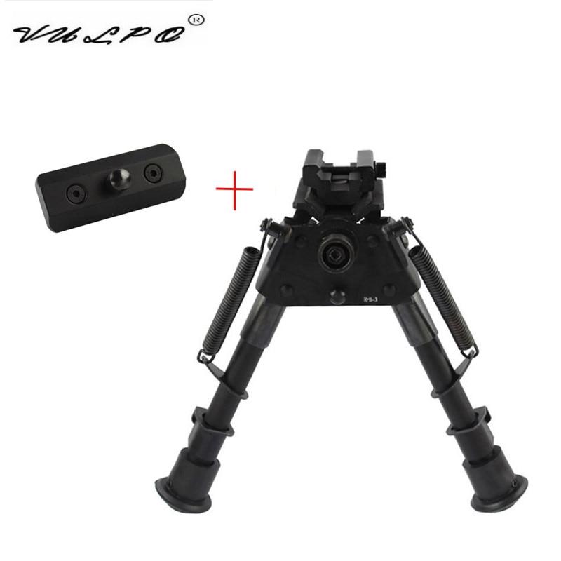VULPO Tactical KeyMod Sling Swivel Stud Bipod Adapter Mount Handguard Picatinny Rail Adapter Rifle Hunting Accessories