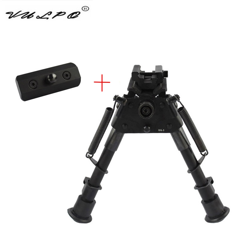Vulpo Tactische Keymod Sling Swivel Stud Bipod Adapter Mount Handguard Picatinny Rail Adapter Rifle Jacht Accessoires