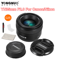 YONGNUO YN35mm F2 Lens Camera Lens for Nikon Canon EOS YN35mm Lenses AF MF Wide Angle Lens for 600D 60D 5DII 5D 500D 400D 650D