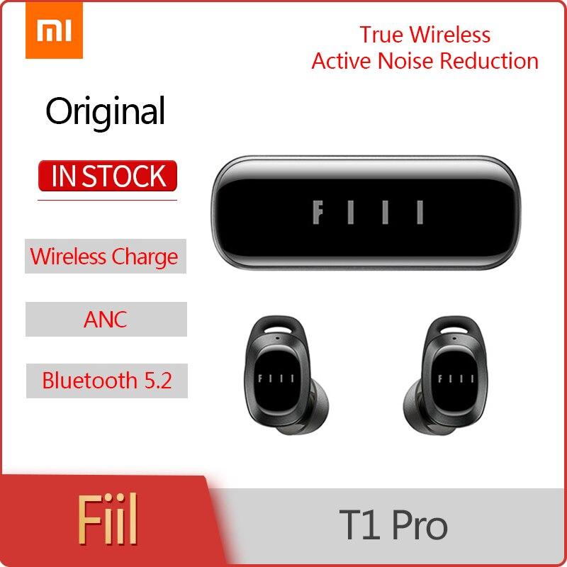 Originele Nieuwe Fiil T1 Pro Ware Draadloze Oordopjes Actieve Ruisonderdrukking Headsets Bluetooth 5.2 Oortelefoon Sport Hoofdtelefoon Met Mic