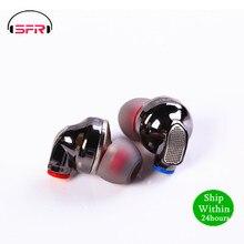 SENFER auriculares internos híbridos con controlador piezoeléctrico audífonos deportivos HIFI con Cable desmontable, DT6 PRO 2BA + DD, V90 T2 V80 ZSX ZST BL03