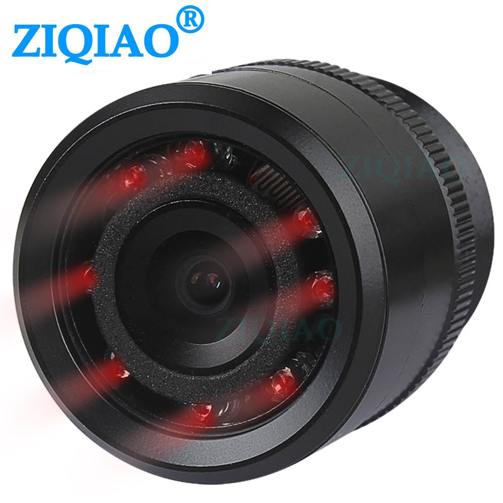 ZIQIAO IR Night Vision Rear View Camera Universal HD Waterproof Reverse Parking Infrared Camera HS020 title=