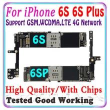 Làm Việc Tốt Ban Đầu Dành Cho iPhone 6 6 S 6 S Plus Mà Không Cảm Ứng ID Cho Iphone 6 6 S 6 S plus 6 S Logic Ban Với Chip IOS MB