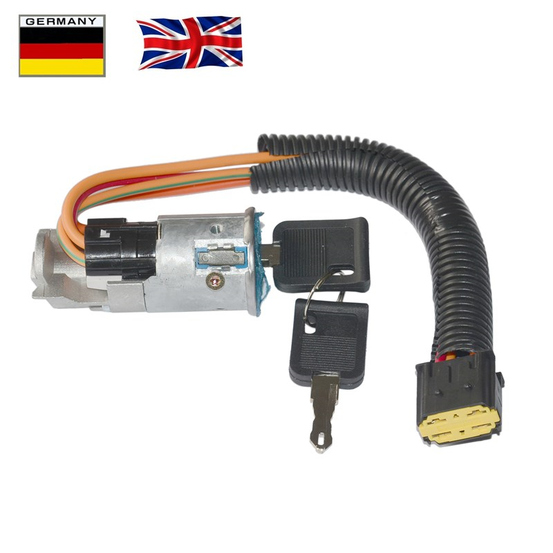 Ignition Barrel Switch With Two Keys For Renault Megane Scenic Ref OE 7701469419