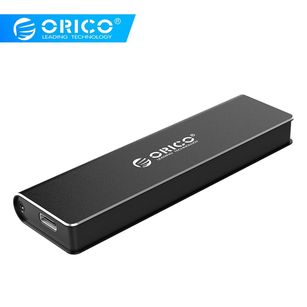 ORICO SSD Case M.2 NVME SSD Enclosure Type C USB 3.1 Support 10Gbps UASP M.2 USB NVME Enclosure Aluminum Hard Drive Disk Box