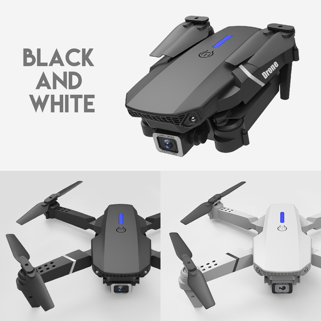 LSRC E525 RC drone with wide-angle HD 4K 1080P dual camera height keeping Wifi RC foldable quadrotor drone gift toy 2