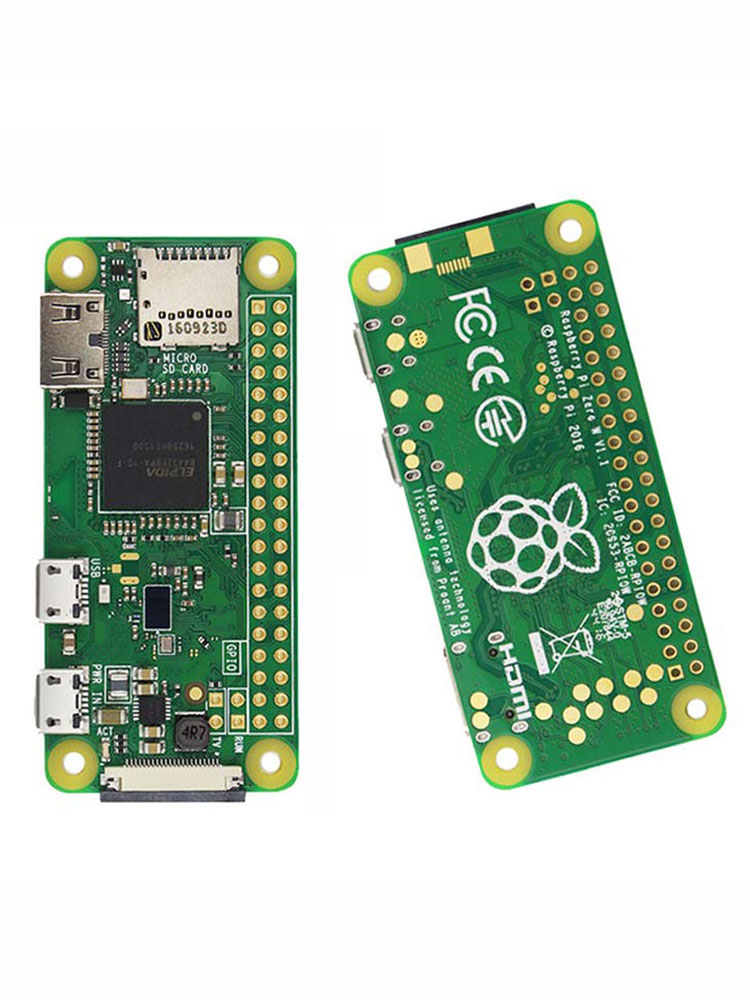 WH CPU Bluetooth-Board Raspberry Pi 512mb-Ram Zero-Version W/ZERO Wireless with 1ghz