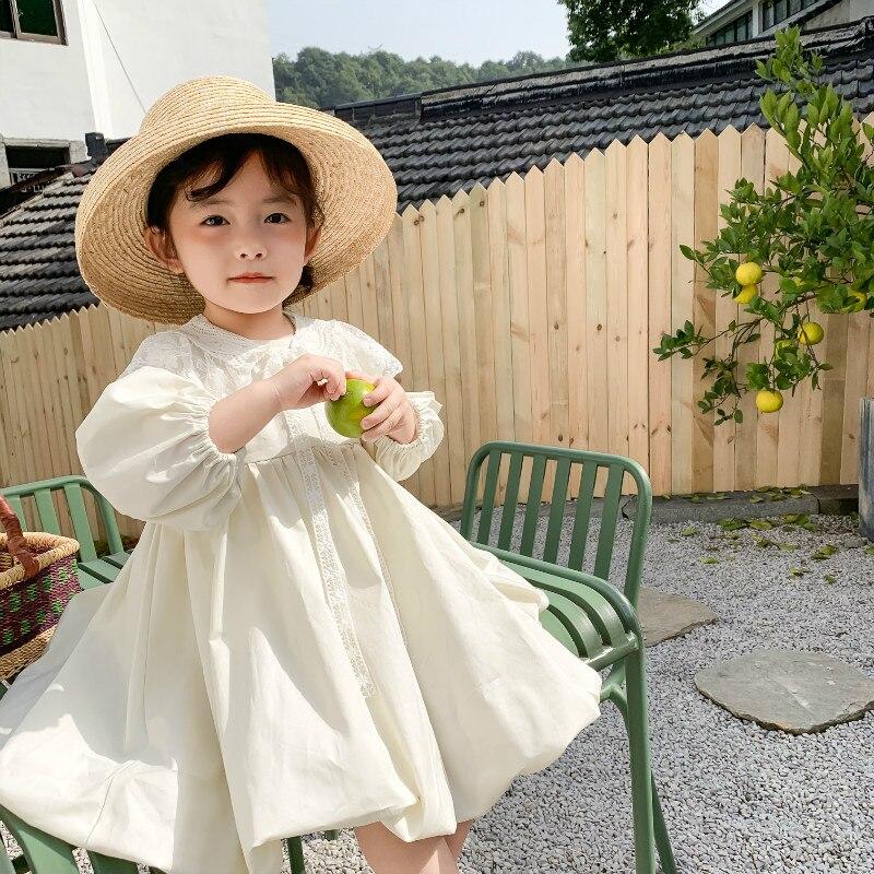 Детская одежда, новинка весны 2020, платье пачка принцессы для девочек, платья с длинными рукавами для дня рождения, хлопковые кружевные платья феи с длинным рукавом|Платья|   | АлиЭкспресс