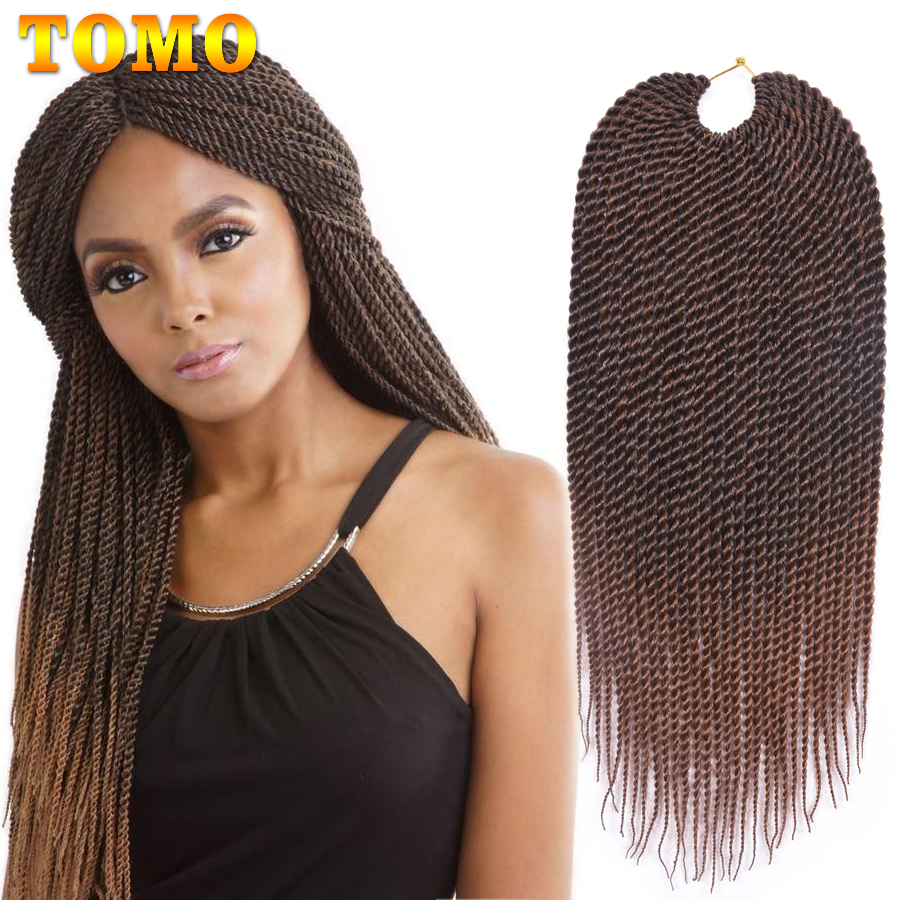 TOMO 30roots Ombre Synthetic Crochet Braid Hair Extensions 14