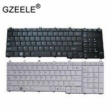 Teclado gzeele, teclado inglês para toshiba por satélite l670 «l675» c660 c660d c655 l655 lambc650 c650d l650 c670 l750 l750d