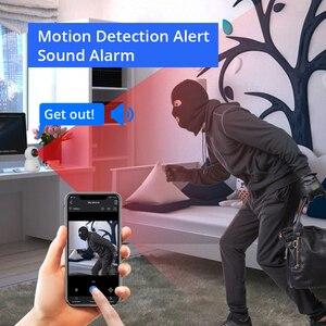 Image 5 - Hiseeu cámara IP de seguridad para el hogar, dispositivo inalámbrico de Audio bidireccional, con tarjeta SD de seguimiento automático para sistema de cámara inalámbrica, 1080P 2MP