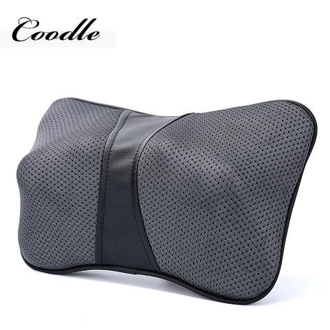 Coodle volta massageador com calor pesco o e ombro massageador massagem el trica travesseiro de
