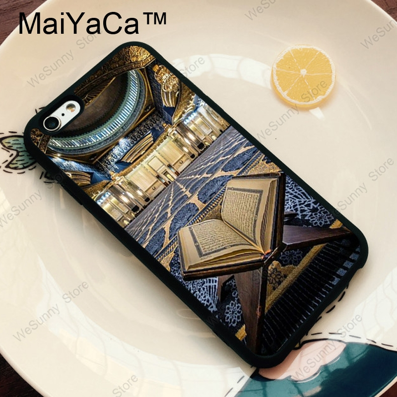 MaiYaCa Allah Islam Muslim Quran Soft TPU Skin Phone Case For iPhone 11 Pro MAX X XR XS MAX 6 6s 7 8 Plus 5s Back Cover Coque
