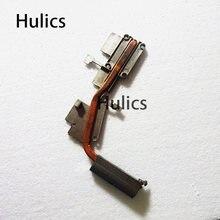 Huics original para toshiba satellite l670 L670-1DK l675 radiador de montagem do dissipador de calor de refrigeração at0ck0070m0 at0ck0050m0