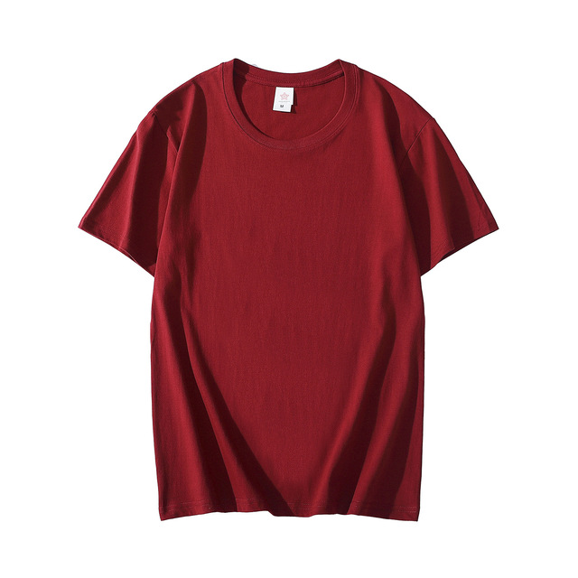 MRMT 2021 Brand New Cotton Men's T-shirt Short-sleeve Man T shirt Short Sleeve Pure Color Men t shirt T-shirts For Male Tops 5