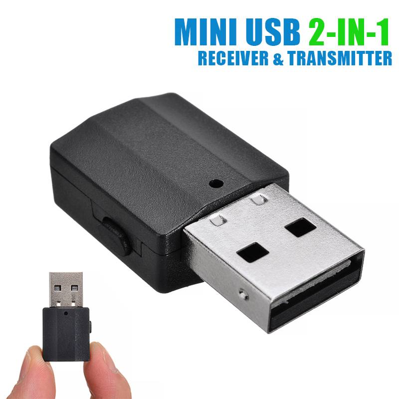 Mini USB bluetooth Receiver Transmitter Music Audio Reciving Transmission Device Wireless Adapter For PC Laptop Accessories