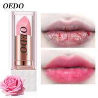 Rose Peptide-Bálsamo labial nutritivo, colorido, antiedad, anticongelante, maquillaje agrietado, cuidado de la piel facial, crema hidratante labial para daños
