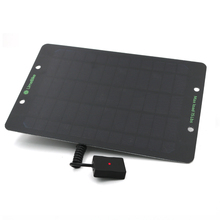 Draagbare 6W 10W Solar Charger Zonnepanelen Oplader Met Usb poort Batterij Power Voor Mobiele Telefoons 5V