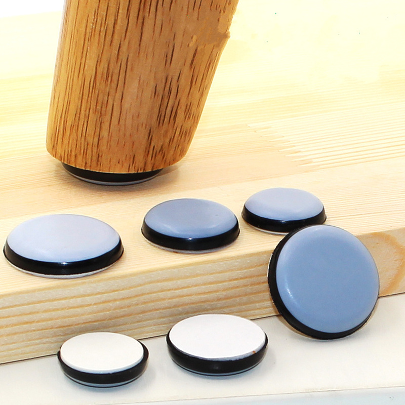 4-8pcs Furniture Slider Pad Rubber Chair Leg Bases Table Corner Feet Protector Door Close Buffer Bumper Stop Cushion Hardware