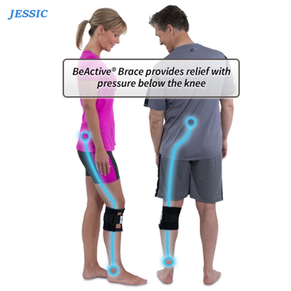 JESSIC Knee Leg Brace Back Pain Acupressure Elbow Support Sciatic Nerve Health Care