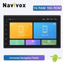 Navivox Android 8.1 For Nissan Volkswagen TOYOTA Honda KIA Hyundai Lada Renault Mazda Universal Car radio GPS 2 din DVD player
