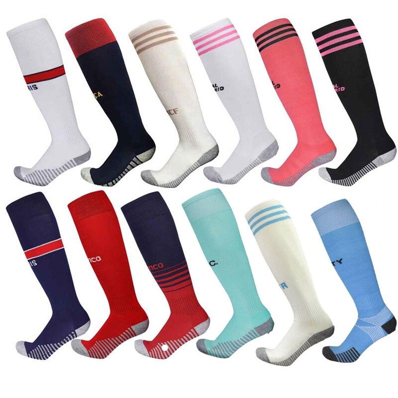 Профессиональные мужские футбольные носки, дышащие спортивные футбольные носки, длинные чулки Trusox, уличные носки