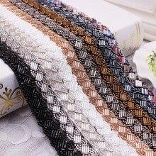 1.5cm Handmade Beading Braid Lace DIY Clothing Accessories Accessories Hair Accessories Accessories