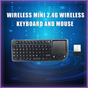 Raspberry Pi 4 módulo B Orange Pi 2,4G teclado inalámbrico de silicona suave tecla táctil ratón todo en uno TV inteligente decodificador