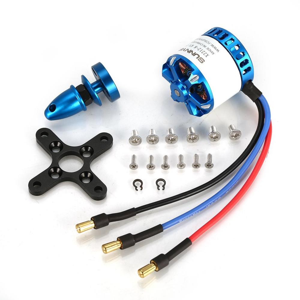 SunnySky X2212-III X2212 2212 980KV <font><b>1250KV</b></font> 1400KV 2450KV 3-4S Brushless Motor for FPV RC Racing Drone image