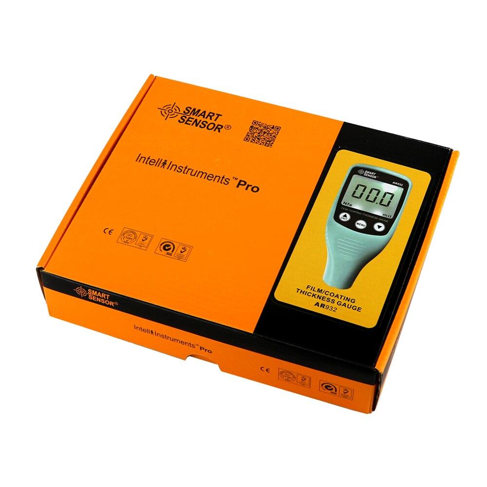 Cyfrowy miernik grubości lakieru z sondą samochodową Detektor - Przyrządy pomiarowe - Zdjęcie 6