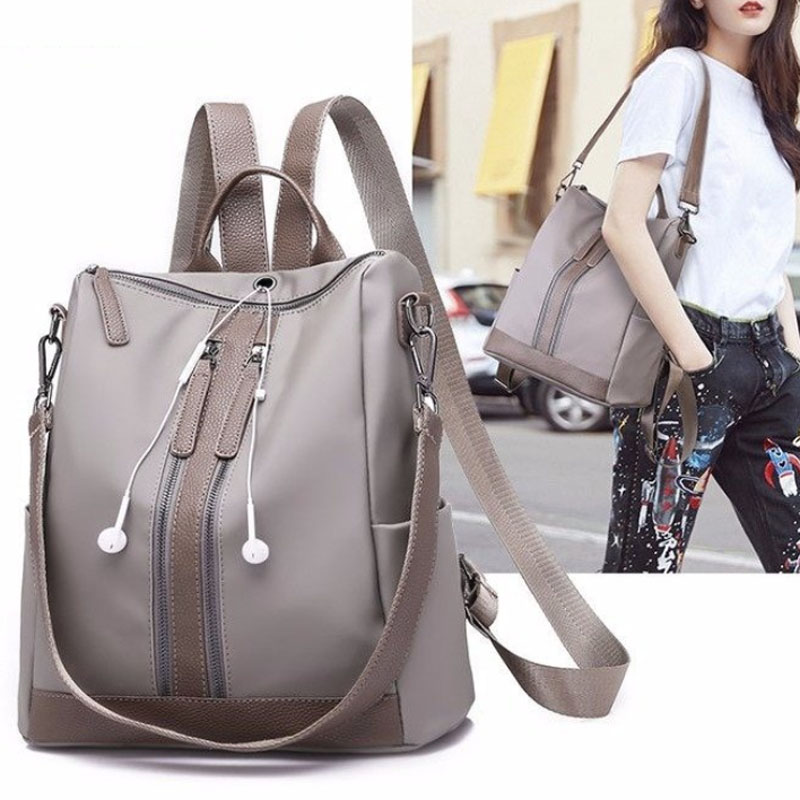 New Color Casual Shoulder Bag Elegant High-Grade Temperament Backpack Multi-Function Storage Storage Bag Baby Diaper Bag