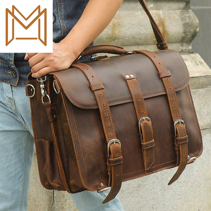 Genuine Leather Male Package Exceed Genuine Leather Male Package Crazy Horsehide Handbag Luggage Package