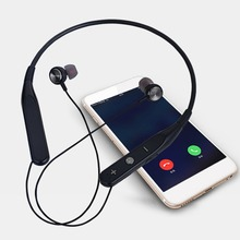 Wireless Bluetooth Earphone Neck Hanging Hands-free Sports Headphones Noise Canceling Stereo Magnetic Headset with Mic newest tws invisible bluetooth earphone 3d stereo hands free noise reduction sports mini bluetooth headset wireless headphones