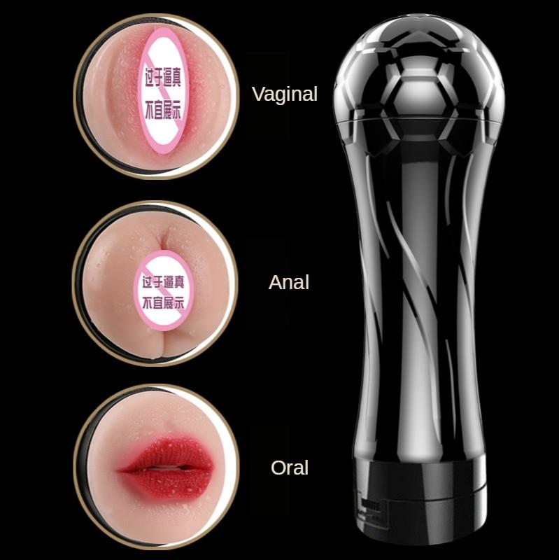 Sex Tools For Men Masturbator Sex Toys Pussy Real Vagina Anal Oral Adult Toy Football Male Masturbators TPE Sex Dolll