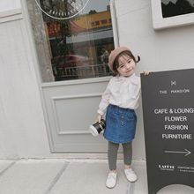 New autumn Korean style sweet solid color long-sleeved blouses with bow tie for girls sweet style flared sleeves shirt with self tie bowknot