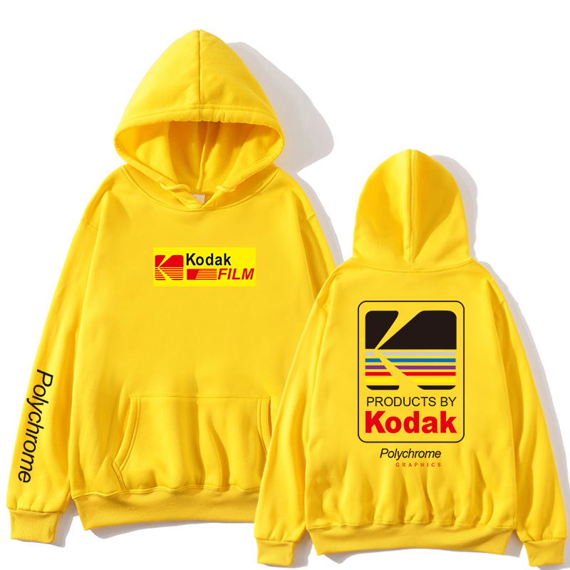 Japanese Hip Hop Winter Fleece Hoody Harajuku Kodak Jackets Men Women Sweatshirts New 2019 Hot Selling Hoodies