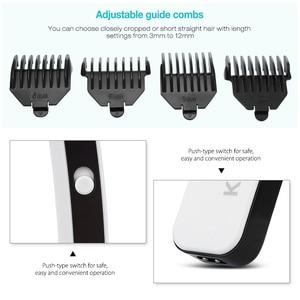 Image 3 - Rechargeable Hair Trimmer Professional Hair Clipper Hair Shaving Machine Hair Cutting Beard Electric Razor 220 240V 40D