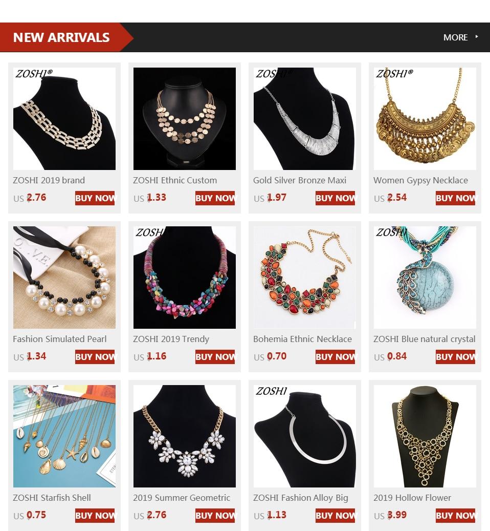 Female vintage choker pendants&necklaces big boho necklaces ethnic bohemian jewelry statement tribal Colorful bijoux femme mujer 5