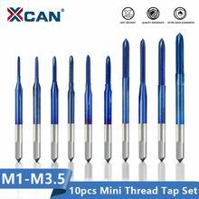 Резьбовой кран xcan 10 шт стандартная быстрорежущая сталь Метрическая