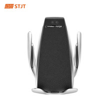 360 ° Draaien Draadloze Opladen Autolader Ir Automatische Auto Telefoon Houder Air Vent Zuig Telefoon Mount Bracket Voor Telefoon android