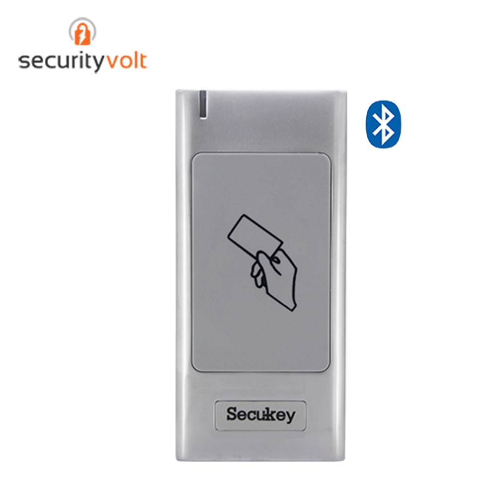 Standalone Wireless BT Access Control System RFID IC Card Reader 13.56MHz 10000 Users Capacity IP66 Weaterproof